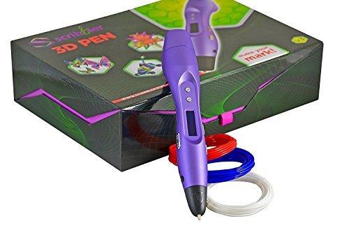 Scribbler 3D Stift Version 3 Metallisch Violett Zeichnen Sie Ihre Vorstellung! Hand-druckmaschine