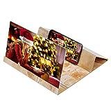 Universal Handy 3D Bildschirm Lupe Smartphone Bildschirmlupe Handyhalter Vergrößern Handy Lupe Bildschirm 3D 12