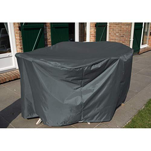 Housse de protection - Housse salon de jardin 250 x 110 cm - 8/10 chaises - anthracite