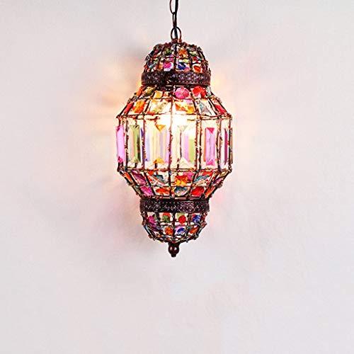 Kronleuchter aus Murano-Glas, achteckiger Retro Industrial Wind Lampe Engineering Lichter Naher Osten Stil leuchtet - Murano Glas Hängeleuchte