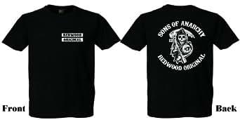 T-Shirt Sons of Anarchy der Kult TV Serie aus Amerika,Biker,Rocker ,ACAB,Kult (M)
