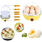 Gadget Bucket Eggs Device Multifunction Poach Boil Electric Egg Cooker Boiler Steamer Automatic Safe Power-Off Cooking Tools Kitchen Utensil (Color As Per Availability)