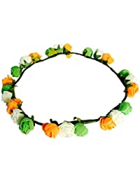 Loops n knots Tri Colour Tiara/Crown/Headband for Republicday ,Independence Day