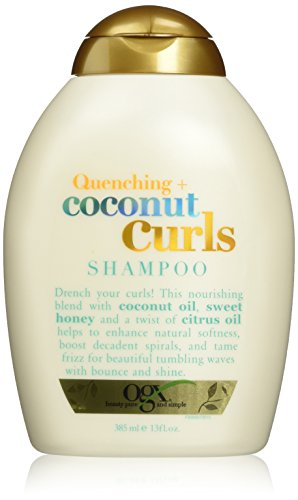 Organix Quenching Plus Curls Shampoo, Coconut, 13 Fluid Ounce by Organix -