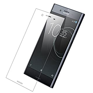 Olixar Sony Xperia XZ Premium Screen Protector - Full Cover/Edge to Edge Tempered Glass - Clear