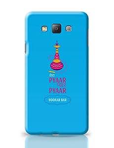PosterGuy Tera Pyar Pyar Pyar Hookah Bar (Blue) Illustration Samsung Galaxy A7 Covers