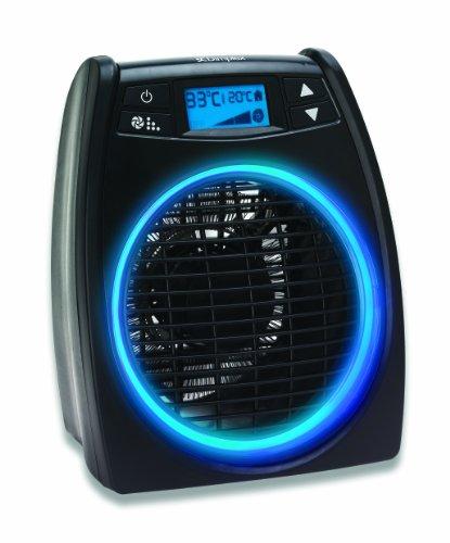 Dimplex DXGLO2 Glofan 2 KW Upright Electric Fan Heater, Black, 27.8 cm*15.8 cm*23.0 cm