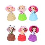 VektenxiCartoon schöne Cupcake Prinzessin Puppe verwandelt duftenden Kuchen Puppe Spielzeug...