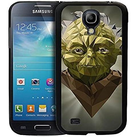 Star Wars Yoda Samsung Galaxy S4 Mini Custodia protettiva, Galaxy S4 Mini guscio protettivo [ Film ] & Star Wars Yoda Samsung S4 Mini aspro Protezione della copertura della cassa - Gift For Ragazzi