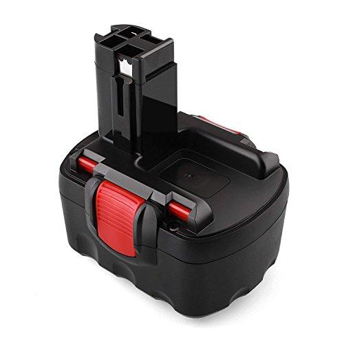 Odec Batería de Repuesto 14,4V 3000mAh para Bosch BAT038 BAT040 BAT 041 BAT140 BAT159 2607335685 2607335533 2607335534 2607335711 (Ni-MH)