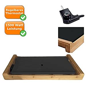 design teppan yaki tischgrill zum braten tischgrill zum fettfreien grillen von. Black Bedroom Furniture Sets. Home Design Ideas