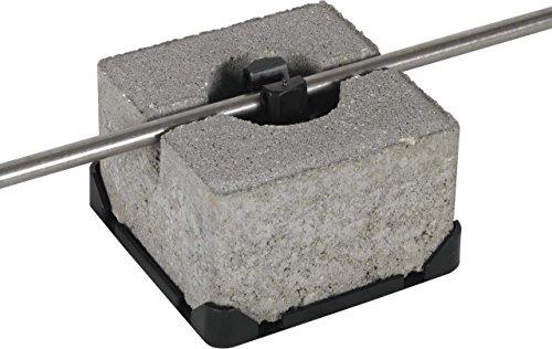DEHN Dachleitungshalter 253 015 FB f.Flachdächer Dachleitungshalter für Blitzschutz 4013364022201