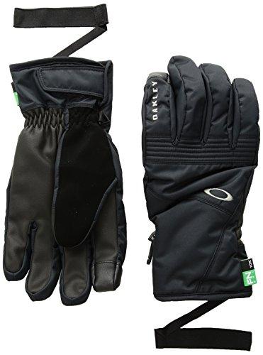 Oakley Herren Roundhouse Short Gloves, Blackout, M (Glove Oakley Snow)