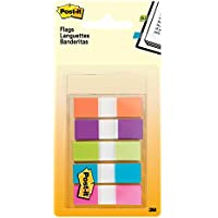 Post-It Index Flags - Small, Multi-Coloured, Pack of 100
