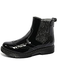 B1816 beatles nero vernice NERO GIARDINI stivaletti bimba boots shoes kids nero