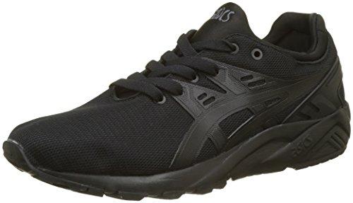 ASICS Unisex-Kinder Gel-Kayano Trainer Evo C7A0N-9090 Sneaker, Schwarz (Black/Black 9090), 39 EU