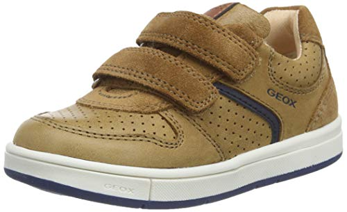 Geox B TROTTOLA Boy A, Zapatillas para Bebés, Marrón Caramel C5102, 27 EU