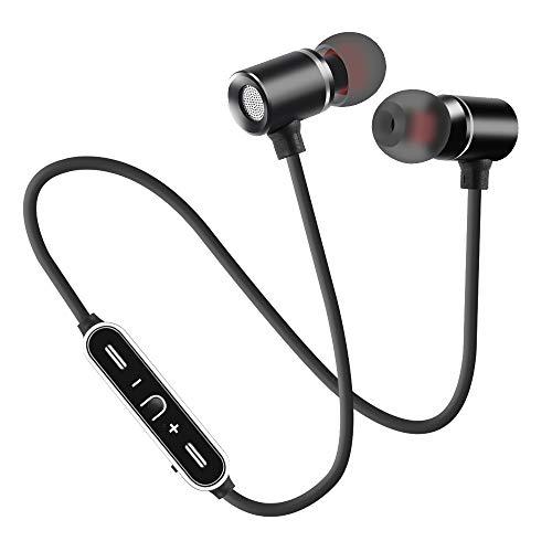Neck-stereo-bluetooth - (Fulltime Drahtloser Bluetooth-Kopfhörer für Sport-Stereo-Hang-Neck, IPX4-wasserdicht, schweißhemmend, schwarz, Pistole (schwarz))