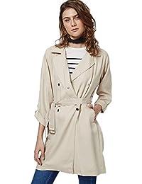 Topshop Women's Lightweight Textured truster Trench Summer Coat Jacket Mac RRP £79 Sizes 6-12