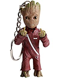 Baby Groot Keyring - Marvel action figure from Guardians of the Galaxy - perfect as a gift - I AM GROOT