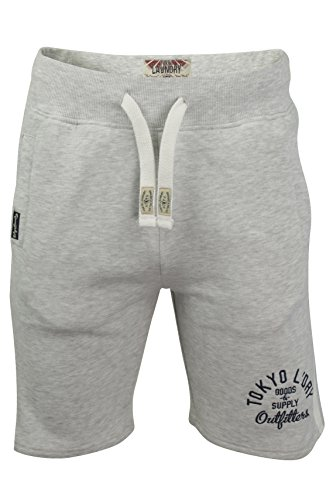 Tokyo Laundry -  Pantaloncini  - Uomo Ice Grey Marl