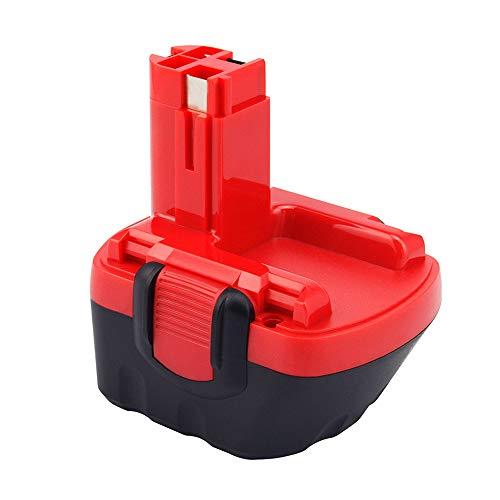 Dosctt Reemplazo Batería para Bosch 12V 3.0Ah Ni-MH BAT043 BAT045 BAT046 BAT049 BAT139 PSR 12 VE-2 GSB 12 VE-2 GSR 12 VE-2 PAG 12 V PSB 12 VE-2 PSR 12 VE-2 2607335692 2607335262 2607335542