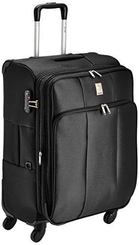 Delsey-Eris-Soft-68Cm-Black-Check-In-Trolley-Luggage-00002581000F9