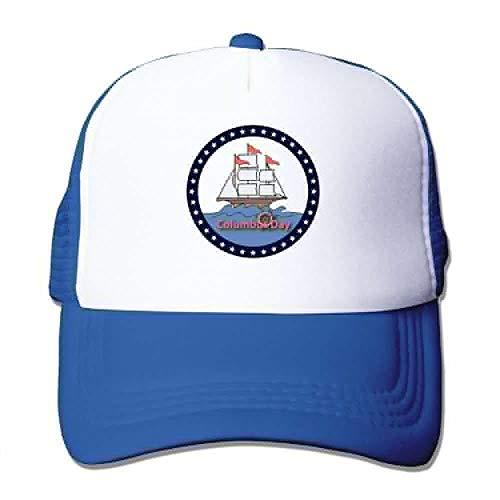 Preisvergleich Produktbild LaTer Mesh Baseball Caps Happy Columbus Day Holidays Unisex Adjustable Sports Trucker Cap
