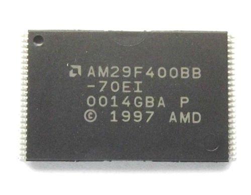 AMD am29F400bb-70ei Nor Flash Parallel 5V 4MBit 512K/256K X 8Bit/16Bit 70ns 48-pin 256k Flash