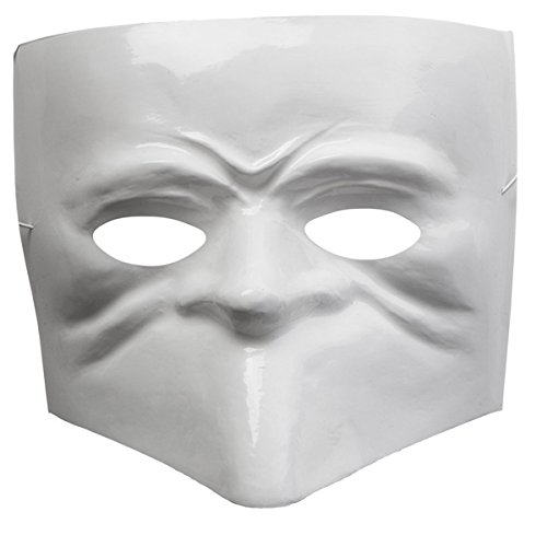 CARNIVAL TOYS S.R.L., weiß MASK ()
