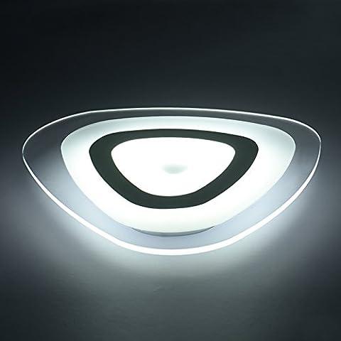Matcose Moderna Minimalista Traje Europeo Lámparas De Techo Para El Dormitorio De La Sala Balcón Acrylic Encabezó Una Lámpara De Techo Con Forma De Corazón ,Interior Blanco Exterior