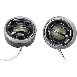 KKmoon 2'' 150W Micro Dome Car Audio Tweeters Haut-parleurs avec crossover intégré une paire