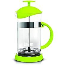 Bialetti – Cafetera de émbolo, Cristal, Vidrio, Verde, ...