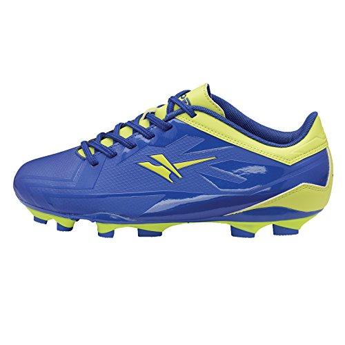 Junior Astro Turf Gola Ativo 5 Chaussures d'entraînement de foot pour enfant lame rapide Chaussures de Football - Blue Volt