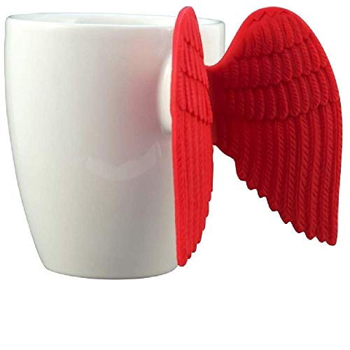 PYLONES, Tasse Expresso Angel Ailes Rouges