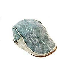 Berets Hat Día del Padre Mejor Regalo Envejecido Newsboy Flatcap 5c0289bb0f1