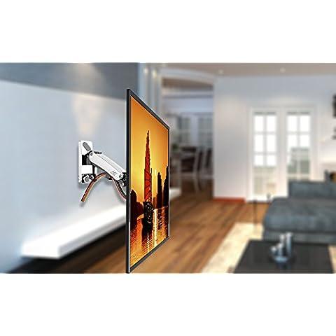 NB F400 - brazo con resorte de gas para pantallas LCD/LED de 40 a 50 pulgadas, 14-23 kg maxi  (ERGO 50