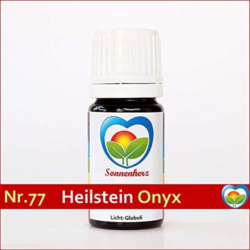 Onyx-Globuli Nr. 77 energetische feinstoffliche Lichtglobuli & Heilsteinfrequenzen von Sonnenherz