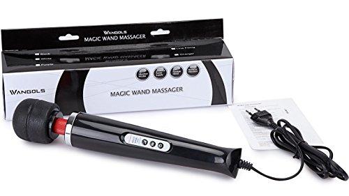 Wangols 15 Stufen Magic Wand Massagegerät massagestab, 2. GENERATION - 5