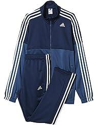adidas TS Train KN - Chándal para hombre, color azul / azul marino / blanco, talla 174