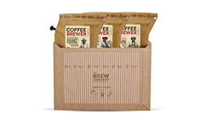 Caffè da viaggio per gli amanti del caffè, per 6 tazze di caffè, tostato a mano, da inserire nello zaino da viaggio Godetevi un caffè fresco e ricco ovunque e in qualsiasi momento.