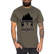WhyKiki Adi Vegeta Camiseta de Hombre One Goku Dragon Master Son Ball Vegeta Turtle Roshi Piece