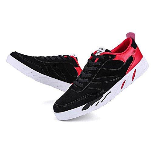 Uomini bassi per aiutare le scarpe da studente scarpe sportive black