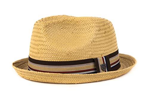 Brixton Castor - Sombrero Beige Tan Straw Talla:Medium