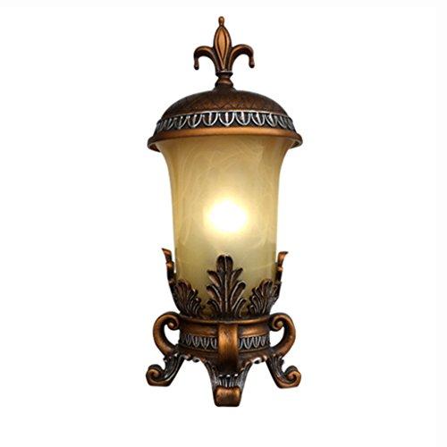 Guo American Landhaus Tischlampe im europäischen Stil Retro-Lampe Wohnzimmer Schlafzimmer Studie Nachttischlampe Bar Tischlampe Nordic Creative Night Light -