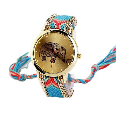 Réf2S22 BR.533-Reloj de pulsera, diseño de bandera de Brasil, color