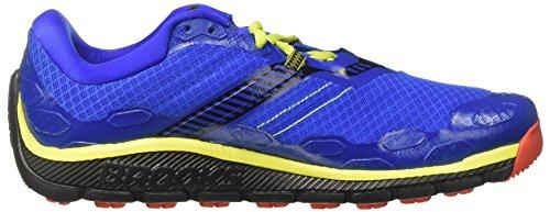 Brooks Herren PureGrit 5 Laufschuhe Blau (Electric Brooks Blue/black/lime Punch)