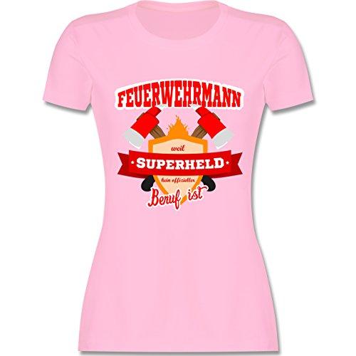Feuerwehr - Feuerwehrmann - weil Superheld kein offizieller Beruf ist - tailliertes  Premium T-Shirt