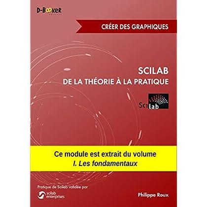 Scilab : De la théorie à la pratique - Créer des graphiques: MODULE EXTRAIT DU LIVRE Scilab : De la théorie à la pratique - I. Les fondamentaux
