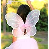 Butterfly Wings Costume for Baby Girl Angel for Birthday Party